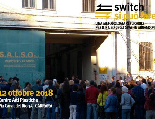 L'Ordine degli Architetti PPC di Massa Carrara chiama, SWITCH risponde!!!