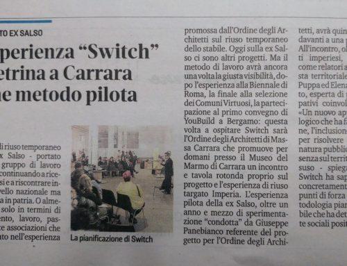 Il Secolo XIX racconta la prossima tappa del Tour di SWITCH